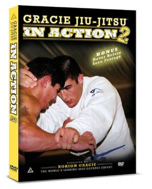 Gracie Jiu-jitsu In Action Vol 2 DVD