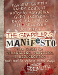 The Grappler's Manifesto: The Guide to Strangling, Torquing, & Bludgeoning Your Way to Victory in The Cage Book (Preowned) - Budovideos Inc