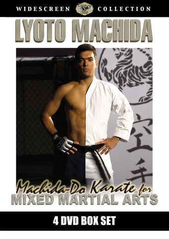Machida Do Karate for MMA 4 DVD Set by Lyoto Machida (Preowned) - Budovideos
