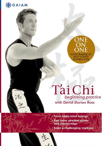 Tai Chi Beginning Practice DVD by David Dorian Ross (Preowned)