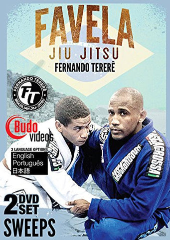 Favela Jiu Jitsu Vol 7 and 8 Sweeps by Fernando Terere 2 DVD Set - Budovideos Inc