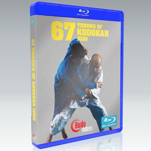 67 Throws of Kodokan Judo DVD or Blu-ray by Juan Montenegro - Budovideos