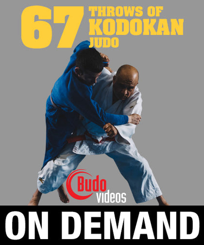 67 Throws of Kodokan Judo by Juan Montenegro (On Demand) - Budovideos