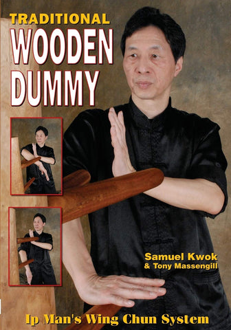 Wing Chun: Traditional Wooden Dummy Book by Samuel Kwok - Budovideos