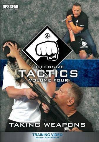 Defensive Tactics Volume Four: Taking Weapons DVD by David Burnell (Preowned) - Budovideos