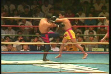 Shootboxing 20th Anniversary Blue Corner DVD 4