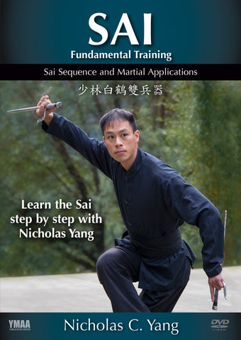 Pair of Yin Yang Sai & Sai Fundamental Training DVD Set with Nicholas Yang