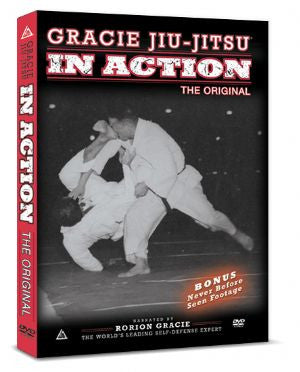 Gracie Jiu-jitsu In Action Vol 1 DVD - Budovideos