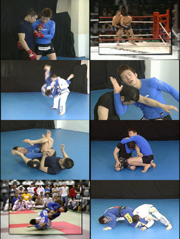 Super Grappling Techniques DVD by Shinya Aoki 2