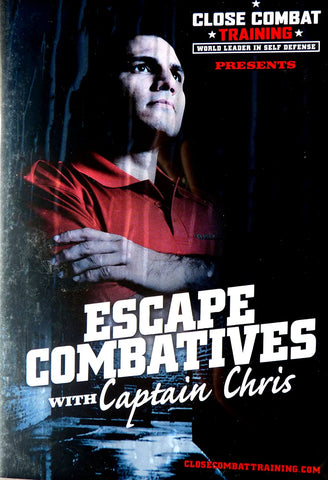 Escape Combatives 4 DVD Set with Captain Chris (Preowned) - Budovideos