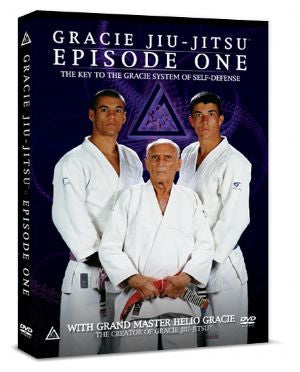 Gracie Jiu-jitsu Episode 1 DVD with Helio Gracie 7
