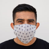 Defender PRO Antibacterial Mask (Spectral White) includes 3 N95 Filters - Made in USA