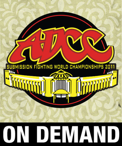 ADCC 2011 Full Broadcast (On Demand) - Budovideos Inc