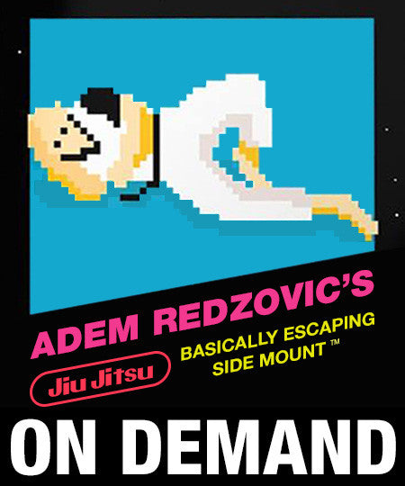 Adem Redzovic's Basically Escaping Side Mount (On Demand) - Budovideos