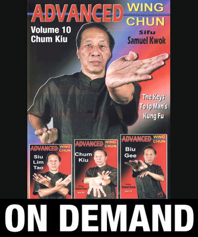 Advanced Wing Chun: Keys to Ip Man's Kung Fu Vol 10 with Samuel Kwok (On Demand) - Budovideos