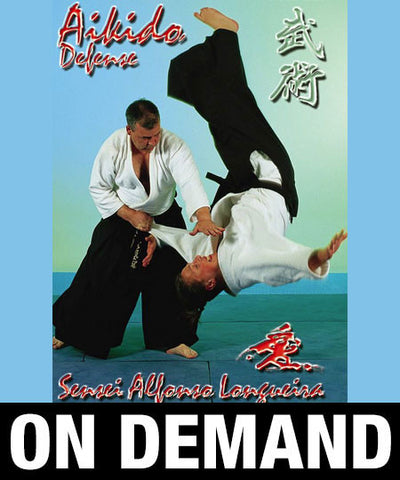 Aikido Defense with Alfonso Longueira (On Demand) - Budovideos