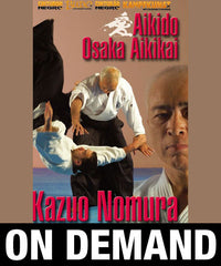 Photo Cover - Aikido Osaka Aikikai Vol 1 by Kazuo Nomura (On Demand)