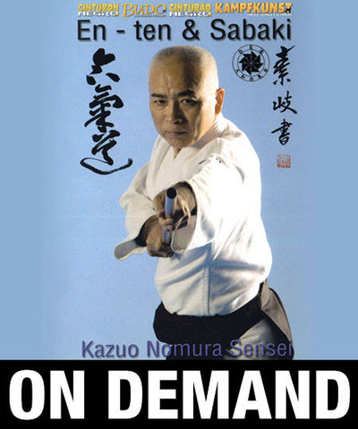 Aikido Osaka Aikikai Vol 2 En-ten and Sabaki by Kazuo Nomura (On Demand)