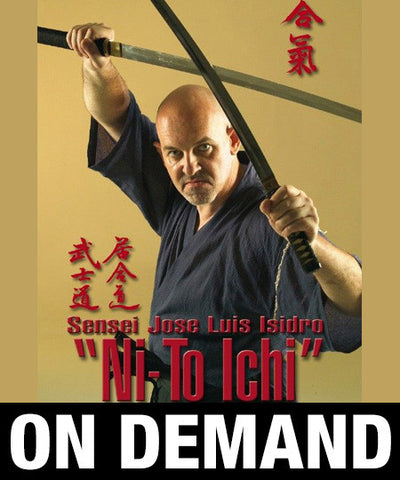 Aikido Ni-To Ichi by Jose Luis Isidro (On Demand)