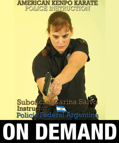 American Kenpo Karate Police Instruction by Carina Salvo (On Demand)