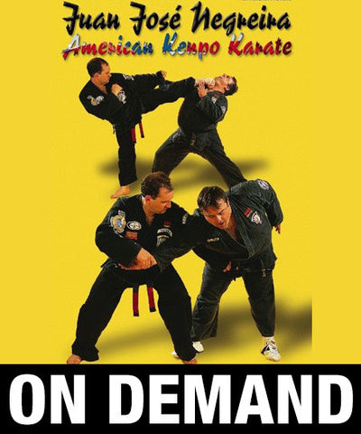 American Kenpo Karate by Juan Jose Negreira (On Demand)