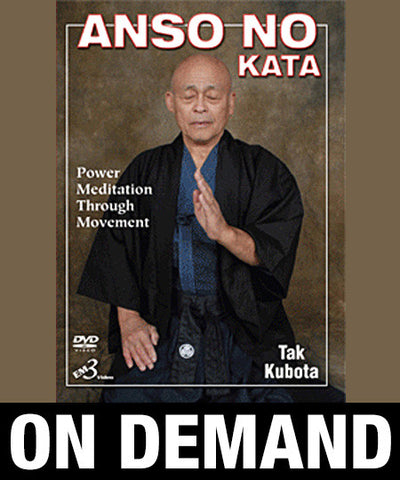 Anso No Kata by Tak Kubota (On Demand) - Budovideos