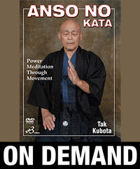 Anso No Kata by Tak Kubota (On Demand)