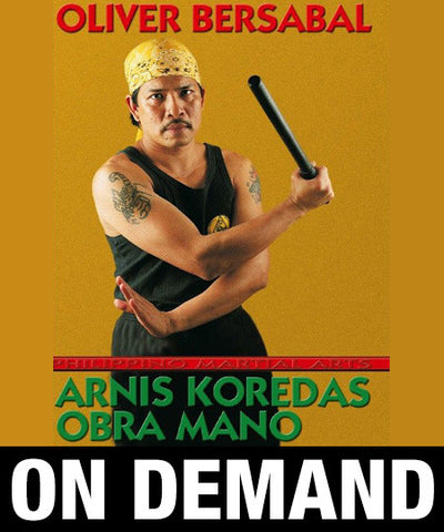 Arnis Koredas Obra Mano by Olivier Bersabel (On Demand) - Budovideos