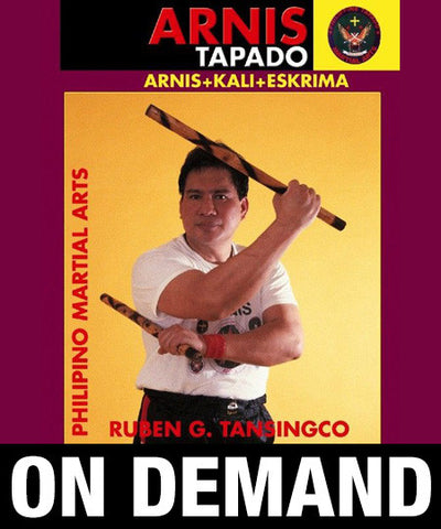Arnis Tapado Double Stick by Ruben Tansingco (On Demand)