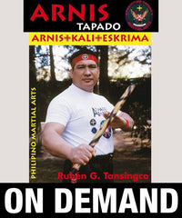 Arnis Tapado Single Stick by Ruben Tansingco (On Demand)