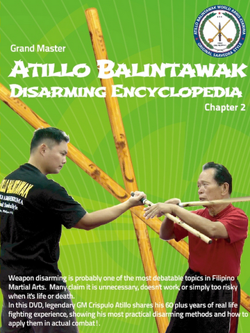 Atillo Balintawak Disarming Encyclopedia DVD Chapter 2 - Budovideos