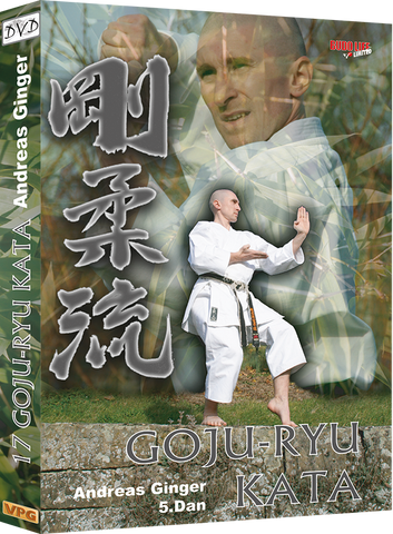 17 Goju Ryu Karate Kata DVD by Andreas Ginger - Budovideos Inc
