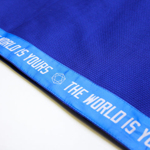 THE WORLD IS YOURS KIMONO V2 by Want vs Need - BLUE