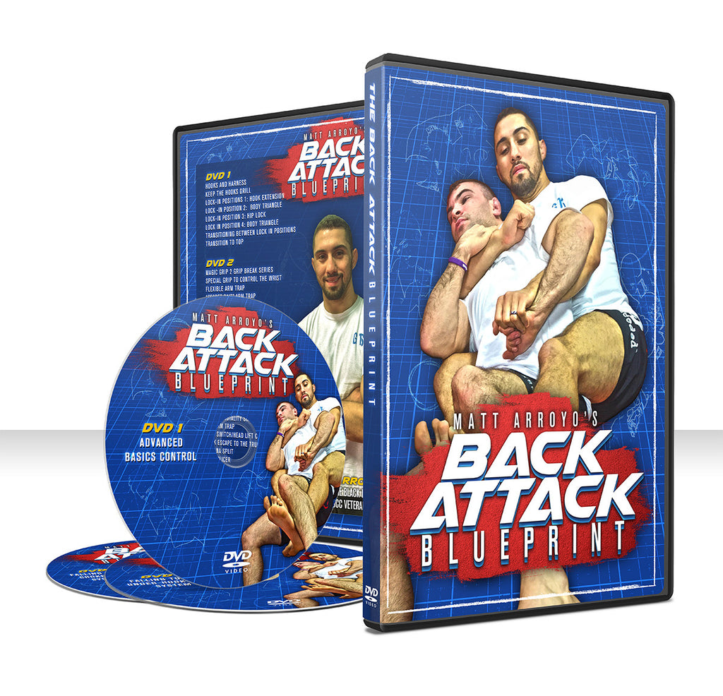 Back Attack Blueprint 3 DVD Set by Matt Arroyo