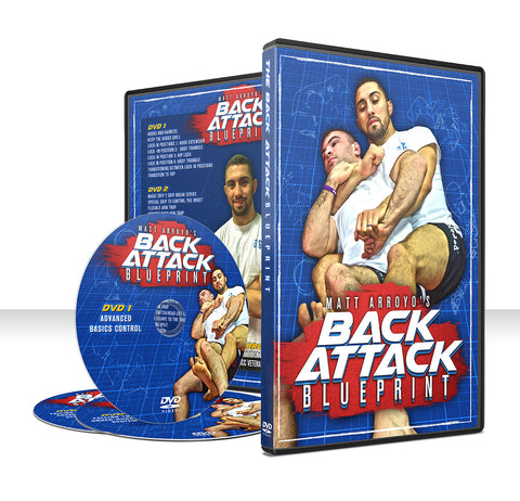 Back Attack Blueprint 3 DVD Set by Matt Arroyo - Budovideos Inc