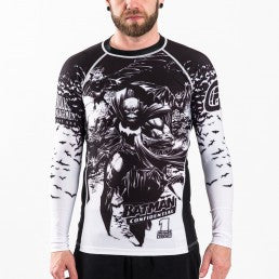 Batman Confidential Noir BJJ Rashguard (Officially Licensed) - Budovideos