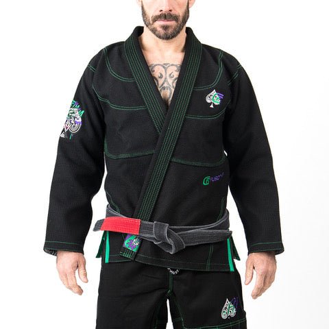 Batman The Killing Joke BJJ Gi by Fusion FG - BLACK