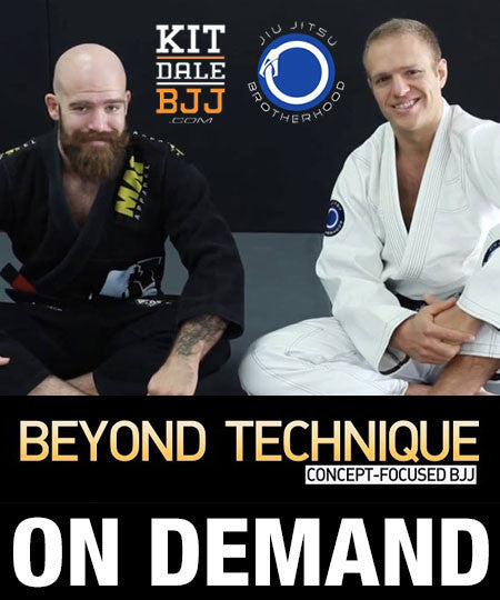 Cover Photo - Beyond Technique: Concept Focused BJJ by Kit Dale and Nic Gregoriades (On Demand)