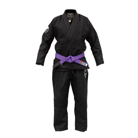 Kaizen Athletic Journey BJJ Gi Black Front
