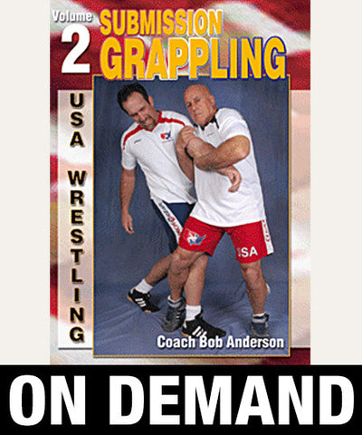 Submission Grappling Vol-2 by Bob Anderson (On Demand)