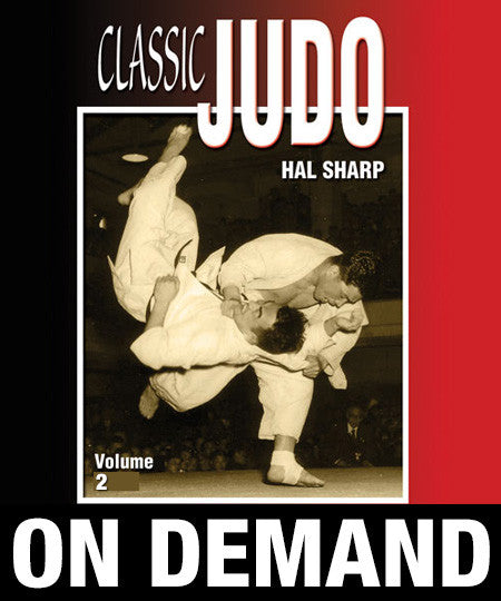 Classic Judo Vol-2 by Hal Sharp (On Demand)
