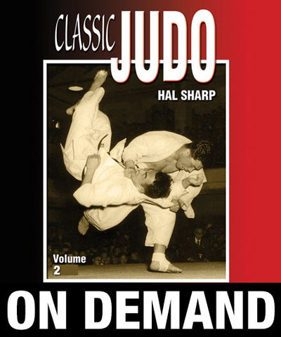 Classic Judo Vol-2 by Hal Sharp (On Demand) - Budovideos