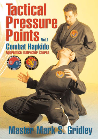 DVD Cover - Combat Hapkido Tactical Pressure Points Program DVD 1 with Mark Gridley