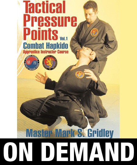 Combat Hapkido Tactical Pressure Points Program Vol1 by Mark Gridley (On Demand) - Budovideos