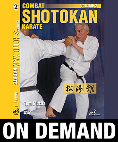 Combat Shotokan Karate Vol-2 by Tom Muzila (On Demand)