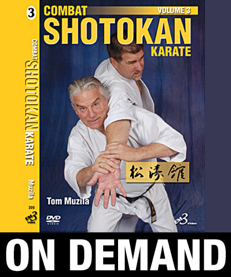 Combat Shotokan Karate Vol-3 by Tom Muzila (On Demand)