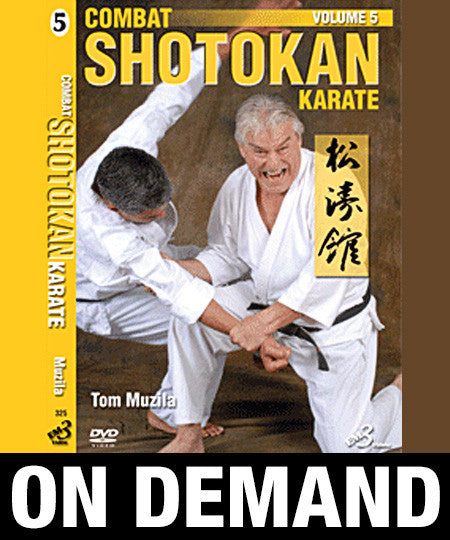 Combat Shotokan Karate Vol-5 by Tom Muzila (On Demand)