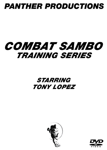 Combat Sambo 11 DVD Set with Tony Lopez - Budovideos