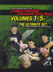 Combat Survival: Commando Krav Maga 5 DVD Set with Moni Aizik - Budovideos