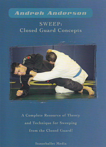 Sweep: Closed Guard Concepts DVD by Andreh Anderson (Preowned)